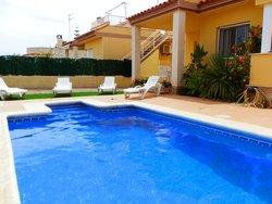 Bild zur kostenlos inserierten Ferienunterkunft Casa Cecilia mit Meerblick.