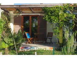 Bild zur kostenlos inserierten Ferienunterkunft Wohnen in der Natur für Herr und Hund.