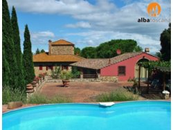 Bild zur kostenlos inserierten Ferienunterkunft Ferienhäuschen mit Schwimmbad in Montespertoli Toskana 30 km von Florenz (615ME).