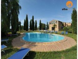 Bild zur kostenlos inserierten Ferienunterkunft Siena Ferienwohnung am Bauernhof in Buonconvento Toskana (545BC).