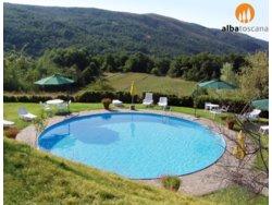 Bild zur kostenlos inserierten Ferienunterkunft Idyllische Bauernhof mit Pool in Toskana in Castelfranco di Sopra Arezzo (589CS).
