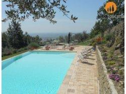 Bild zur kostenlos inserierten Ferienunterkunft Einzigartiges Landhaus mit Schwimmbad in Cortona Toskana Arezzo (604CO).