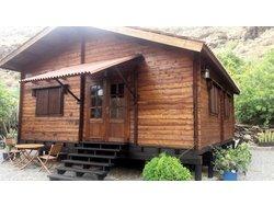 Bild zur kostenlos inserierten Ferienunterkunft Idyllisches Holzhaus Marevina II.