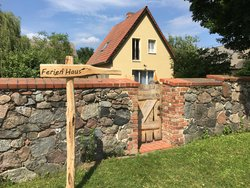 Bild zur kostenlos inserierten Ferienunterkunft Ferienhaus in Brandenburg Naturpark Märkische Schweiz.