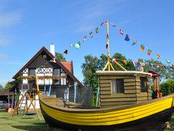 Bild zur kostenlos inserierten Ferienunterkunft Dabki Village Ferienhaus am Meer.
